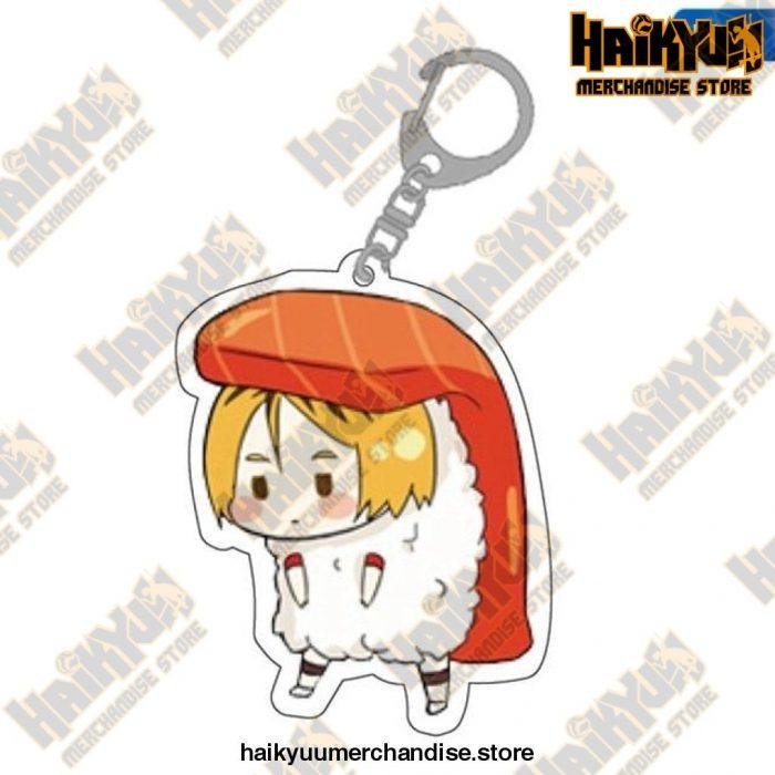Cute Volleyball Boy Haikyuu Key Chain 11