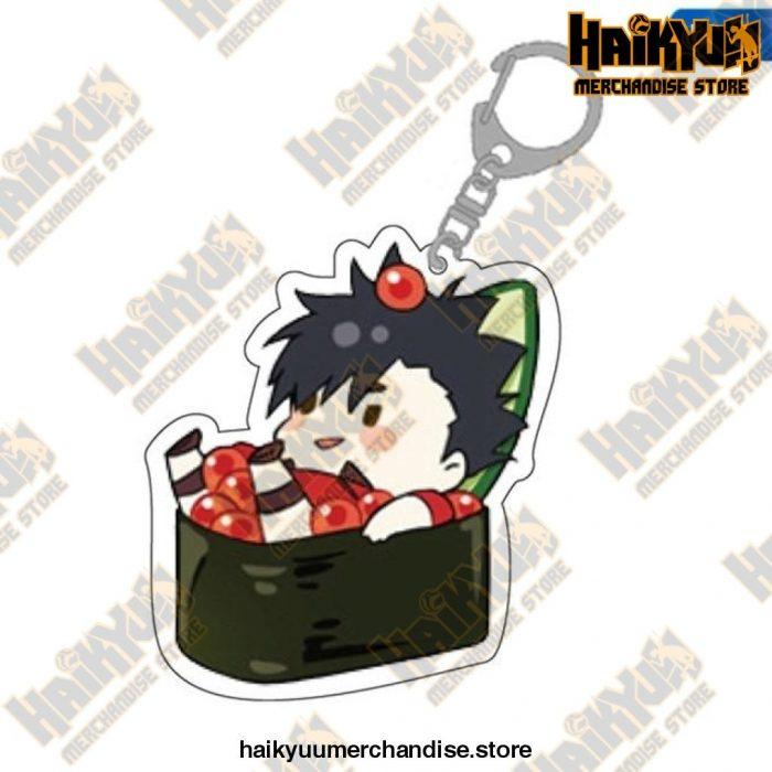 Cute Volleyball Boy Haikyuu Key Chain 12