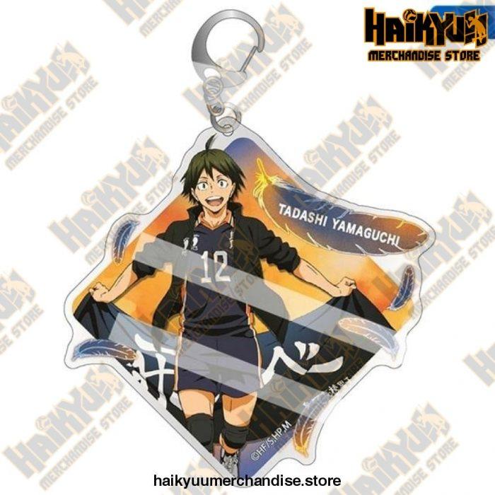 Cute Volleyball Boy Haikyuu Key Chain Key8994H07