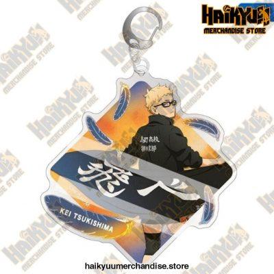 Cute Volleyball Boy Haikyuu Key Chain Key8994H08