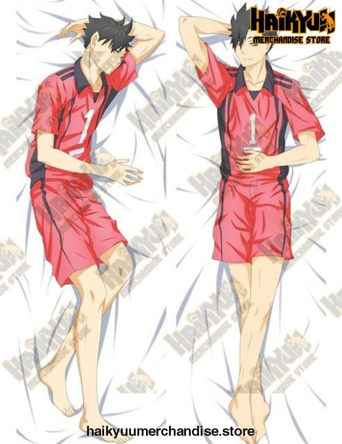 Dakimakura Anime Haikyuu Kuroo Tetsuro Body Pillowcase Peachskin L / 34X100Cm