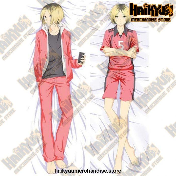 Dakimakura Kenma Kozume Double-Sided Body Pillowcase Peachskin A / 34X100Cm