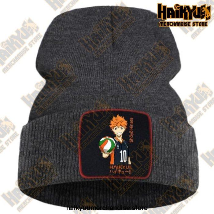 Haikyuu 2021 Hip Hop Knitted Beanie Dark Gray / China One Size