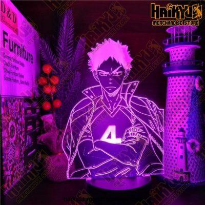 Haikyuu 3D Led Anime Lamp Hajime Iwaizumi