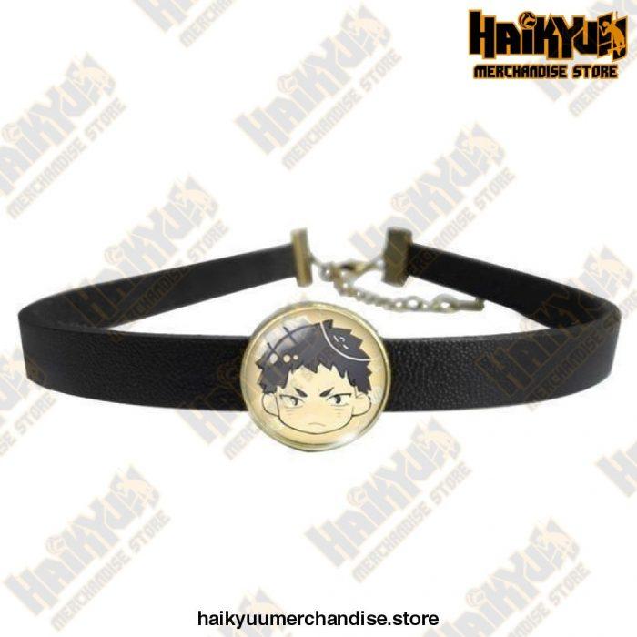 Haikyuu Necklace  Akaashi Keiji Brown Official Haikyuu Jewelry Merch