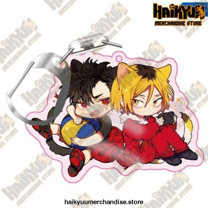 Haikyuu! Anime Acrylic Rubber Keychain H05