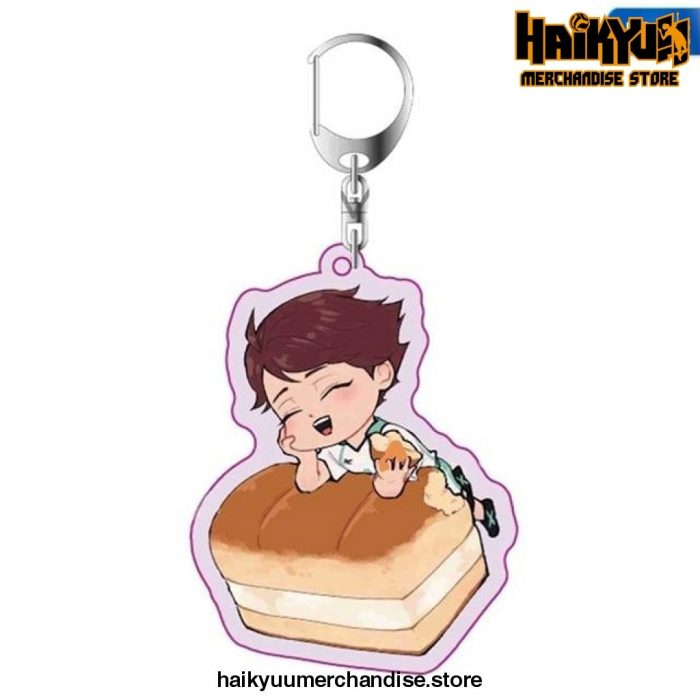 Haikyuu Anime Key Chain 02
