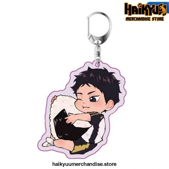 Haikyuu Anime Key Chain 05
