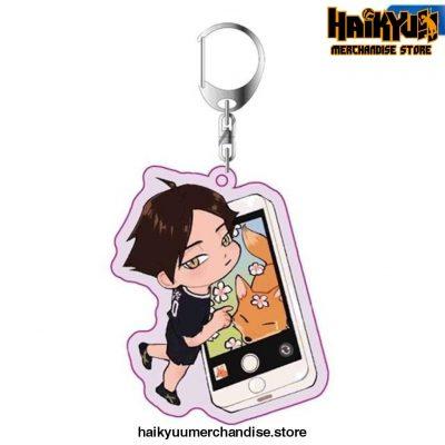 Haikyuu Anime Key Chain 09
