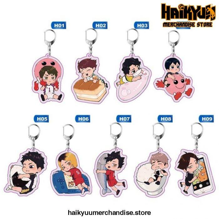 Haikyuu Anime Key Chain
