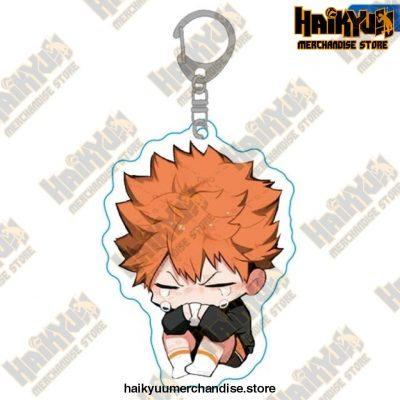 Haikyuu Anime Volleyball Boy Keychain H01