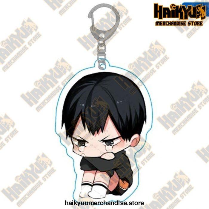 Haikyuu Anime Volleyball Boy Keychain H02