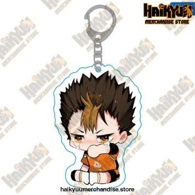 Haikyuu Anime Volleyball Boy Keychain H04