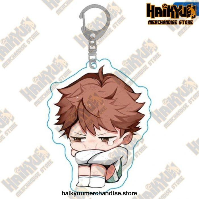 Haikyuu Anime Volleyball Boy Keychain H05