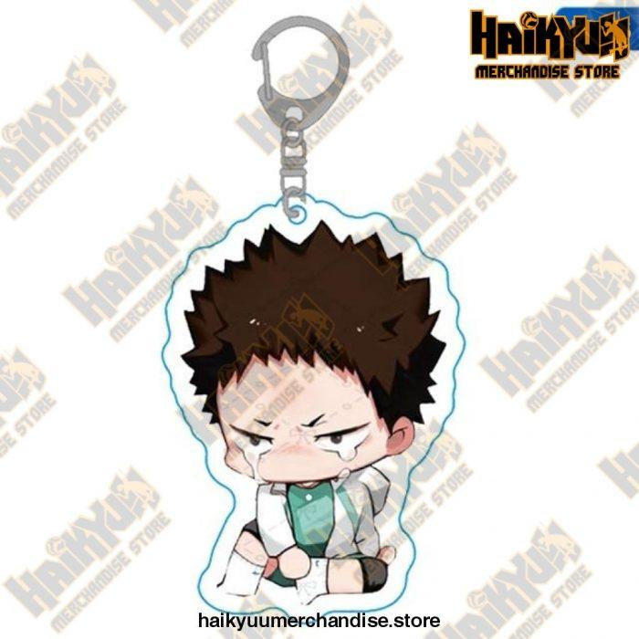 Haikyuu Anime Volleyball Boy Keychain H06