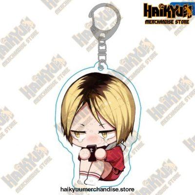 Haikyuu Anime Volleyball Boy Keychain H08