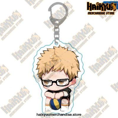 Haikyuu Anime Volleyball Boy Keychain H09