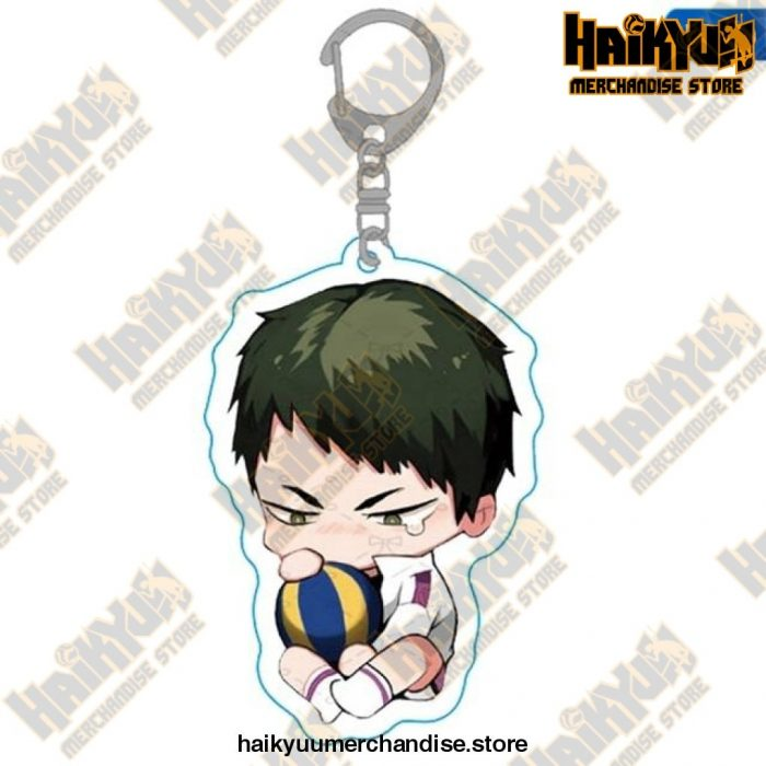 Haikyuu Anime Volleyball Boy Keychain H10
