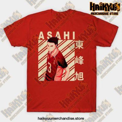 Haikyuu Asahi Azumane T-Shirt Red / S