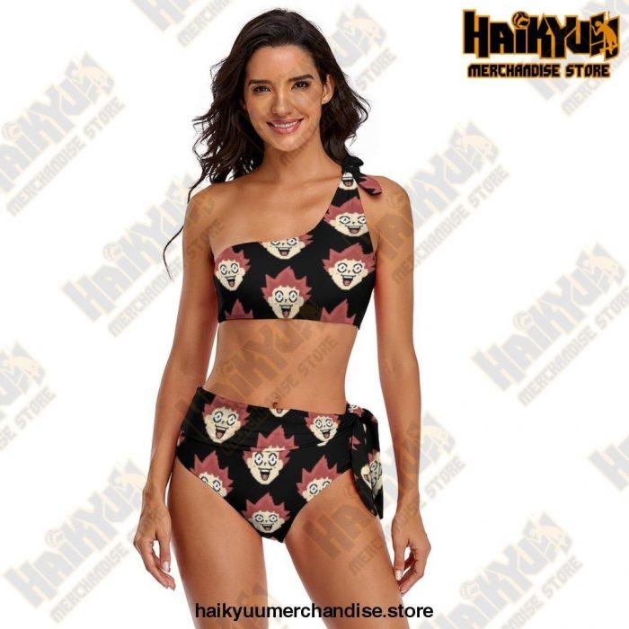 Haikyuu Bikini Swimsuit Adjustable Female Swimwear 2 Piece Bathing Suit