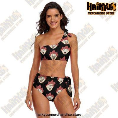Haikyuu Bikini Swimsuit Adjustable Female Swimwear 2 Piece Bathing Suit S