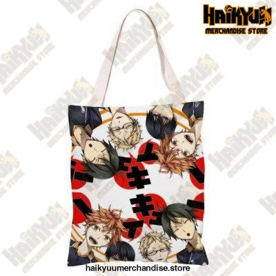 Haikyuu!! Canvas Shoulder Bag 2