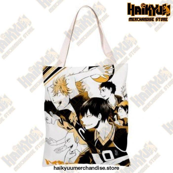 Haikyuu!! Canvas Shoulder Bag 4