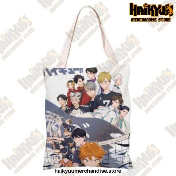 Haikyuu!! Canvas Shoulder Bag E