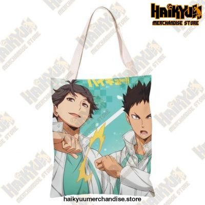 Haikyuu!! Canvas Shoulder Bag H