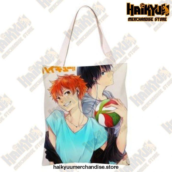 Haikyuu!! Canvas Shoulder Bag K
