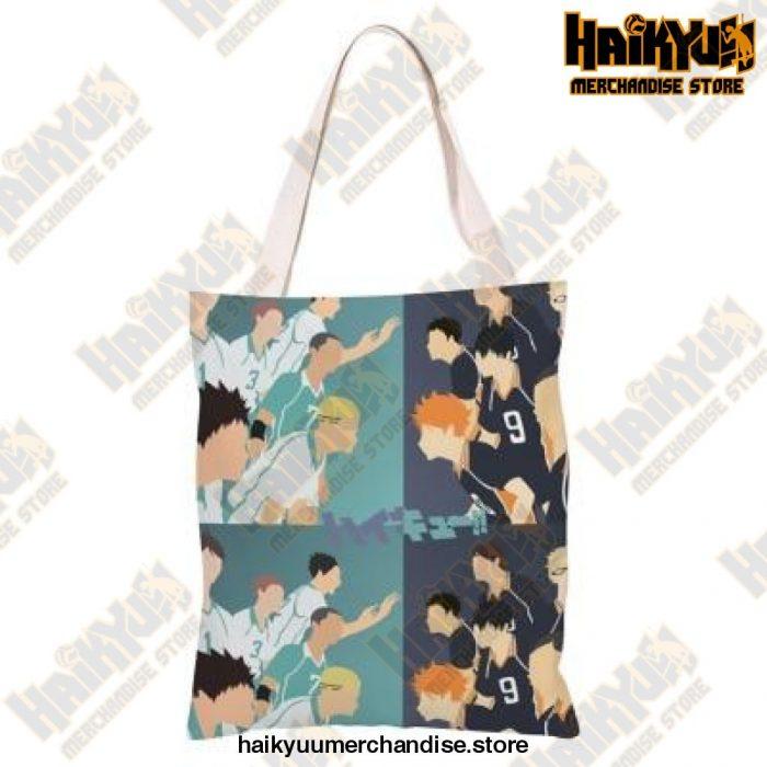 Haikyuu!! Canvas Shoulder Bag M