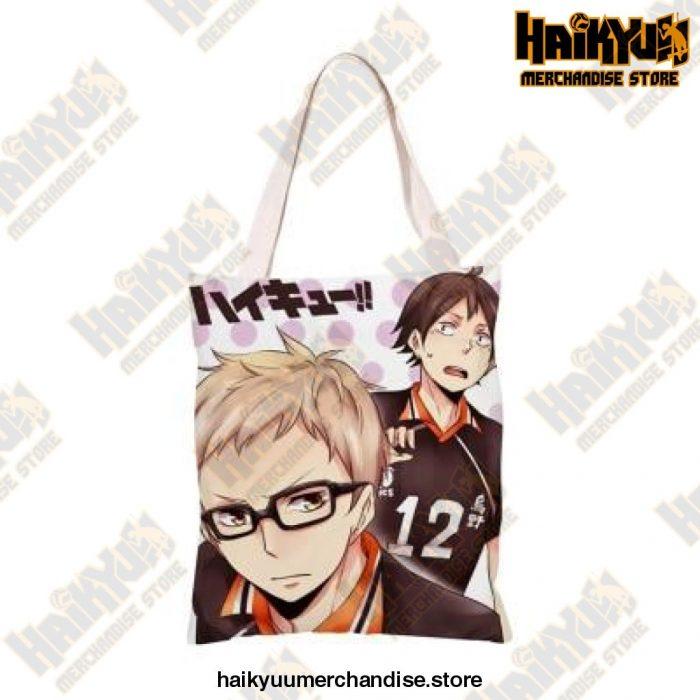 Haikyuu!! Canvas Shoulder Bag O
