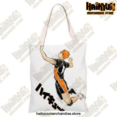 Haikyuu!! Canvas Shoulder Bag Q