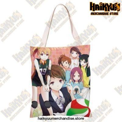 Haikyuu!! Canvas Shoulder Bag T