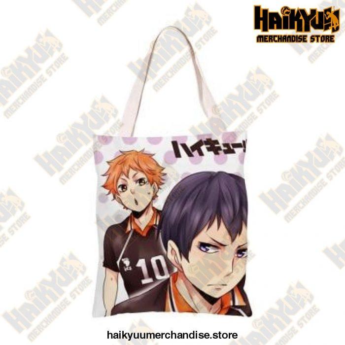 Haikyuu!! Canvas Shoulder Bag X