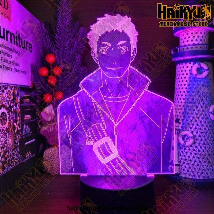 Haikyuu Daichi Sawamura Led 3D Anime Lamp