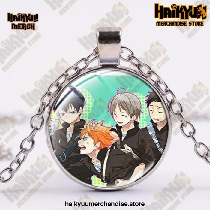 Haikyuu Necklace  Funny Time Gold Official Haikyuu Jewelry Merch