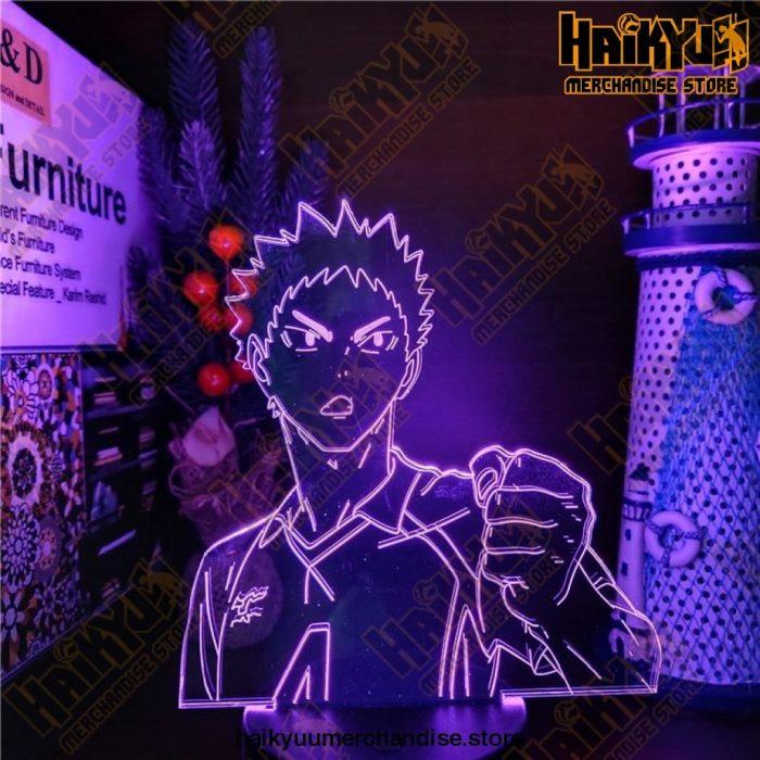 Haikyuu Hajime Iwaizumi 3D Led NightlightsColor Changing