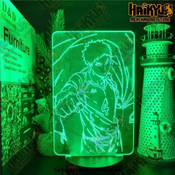 Haikyuu Hajime Iwaizumi 3D Visual Led Anime Lamp
