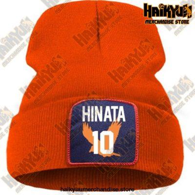 Haikyuu Hinata Shoyo Number 10 Beanie Orange / China One Size