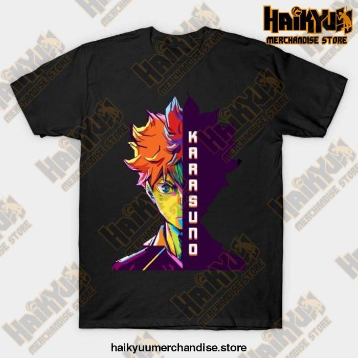 Haikyuu Hinata Shoyo T-Shirt Black / S