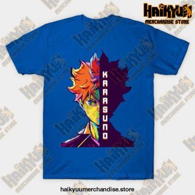 Haikyuu Hinata Shoyo T-Shirt Blue / S