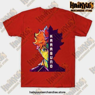 Haikyuu Hinata Shoyo T-Shirt Red / S