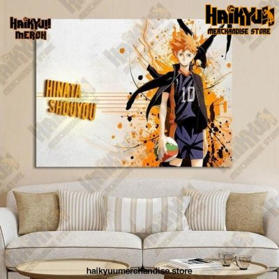 Haikyuu Wall Art  Hinata Shoyo 13x18cm  No Frame Official Haikyuu Canvas Merch