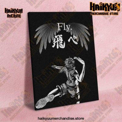 Haikyuu Wall Art  Hinata Spike 13x18cm  No Frame Official Haikyuu Canvas Merch