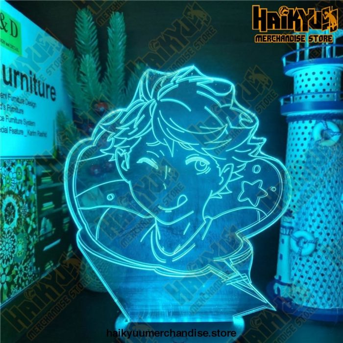 Haikyuu Iwa-Chan Oikawa Led 3D Nightlights