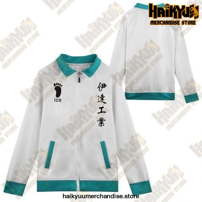 Haikyuu Jacket  Dateko Volleyball Team M Official Haikyuu Jacket Merch