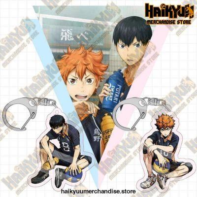 Haikyuu! Karasuno High School Key Chains