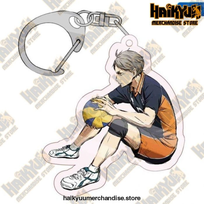 Haikyuu! Karasuno High School Key Chains H03