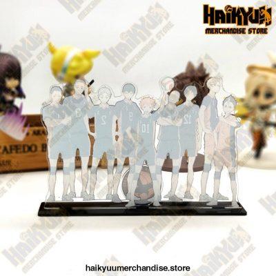 Haikyuu Karasuno High Team Acrylic Stand Model Figures